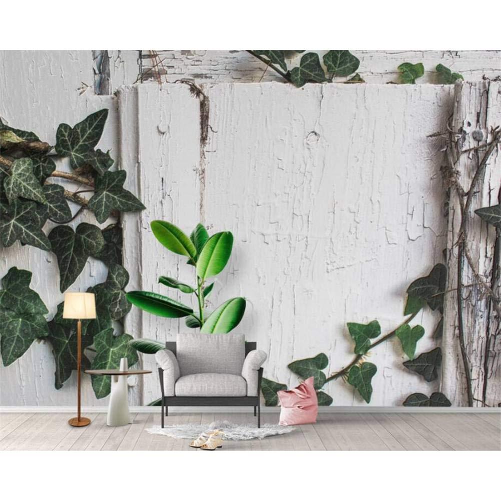 a la venta 300x210cm YYBHTM Simple Planta Tropical Tortuga Tortuga Tortuga Fresco Lime TV Sofá Mural De Fondo Papel Tapiz 3D  buena calidad