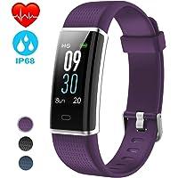 NAIXUES Pulsera Actividad Impermeable IP68, Pulsera Inteligente con Pantalla Color GPS Pulsómetro Monitor Ritmo Cardíaco y Sueño…