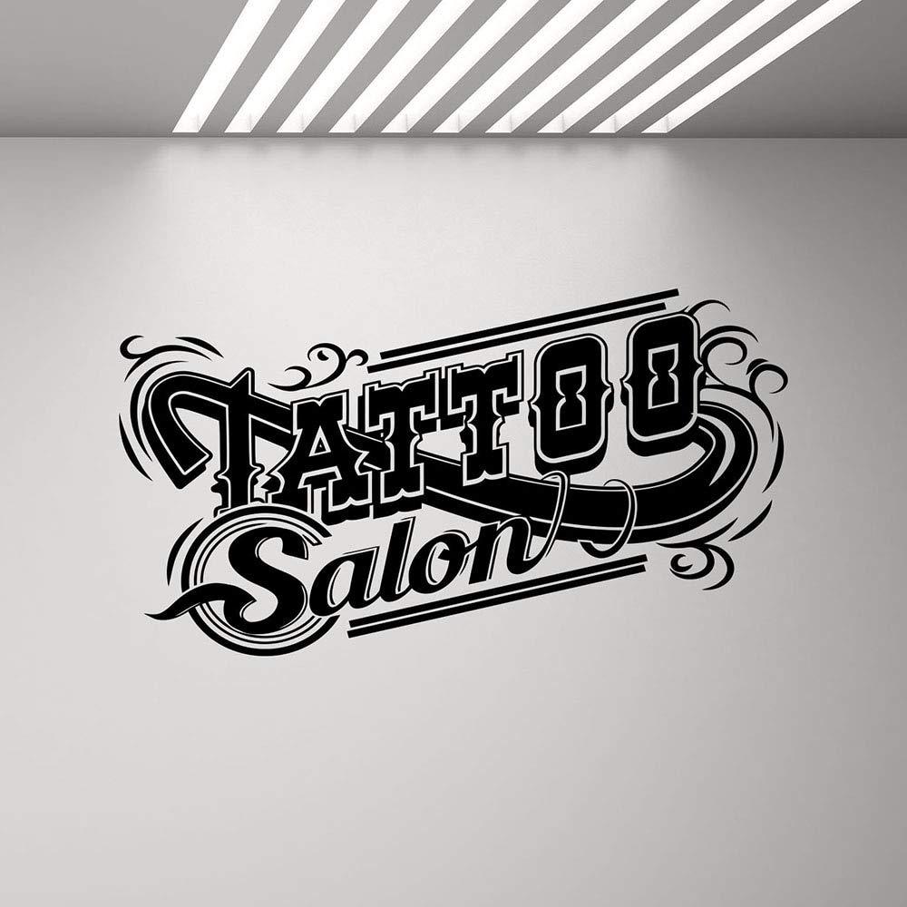 Tattoo Shop Logo Logo Pegatina Estudio diseño Puertas y Ventanas ...