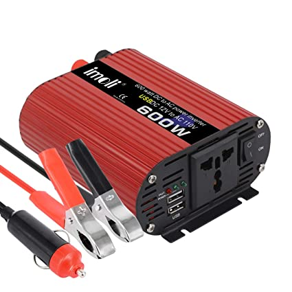 US 2000W Peak Car Power Inverter Converter DC 12V To AC 220V USB Charger