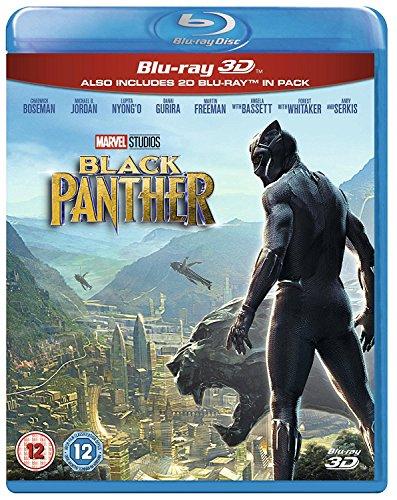 Black Panther (3D + Blu-ray) (UK Import)