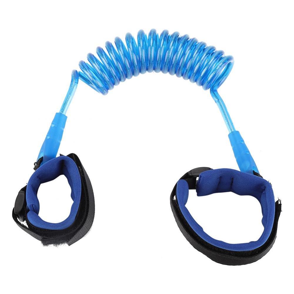 Blue Asixx Kids Anti-lost Cuerda Durable El/ástica Ni/ños adultos Brazalete Enlace Seguridad Aseguramiento Baby Child Anti Lost Cuerda