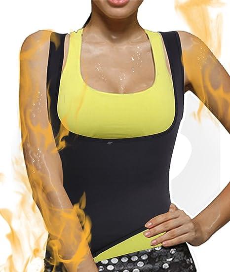 8dd82f6c81 Women s Hot Shapers Hot Sweat Slimming Neoprene Shirt Belly Fat Burner Body  Shaper for Women Sauna