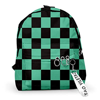 Anime Backpacks for Demon Slayer Cosplay Kamado Tanjirou | Kids' Backpacks