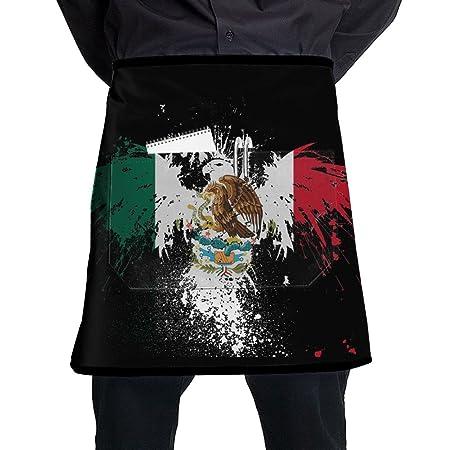 Para hombre Eagle de bandera de México Cool patrón mitad cocina ...
