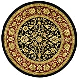 Safavieh Lyndhurst Collection LNH212G Traditional Oriental Black and Red Round Area Rug (8′ Diameter) Review