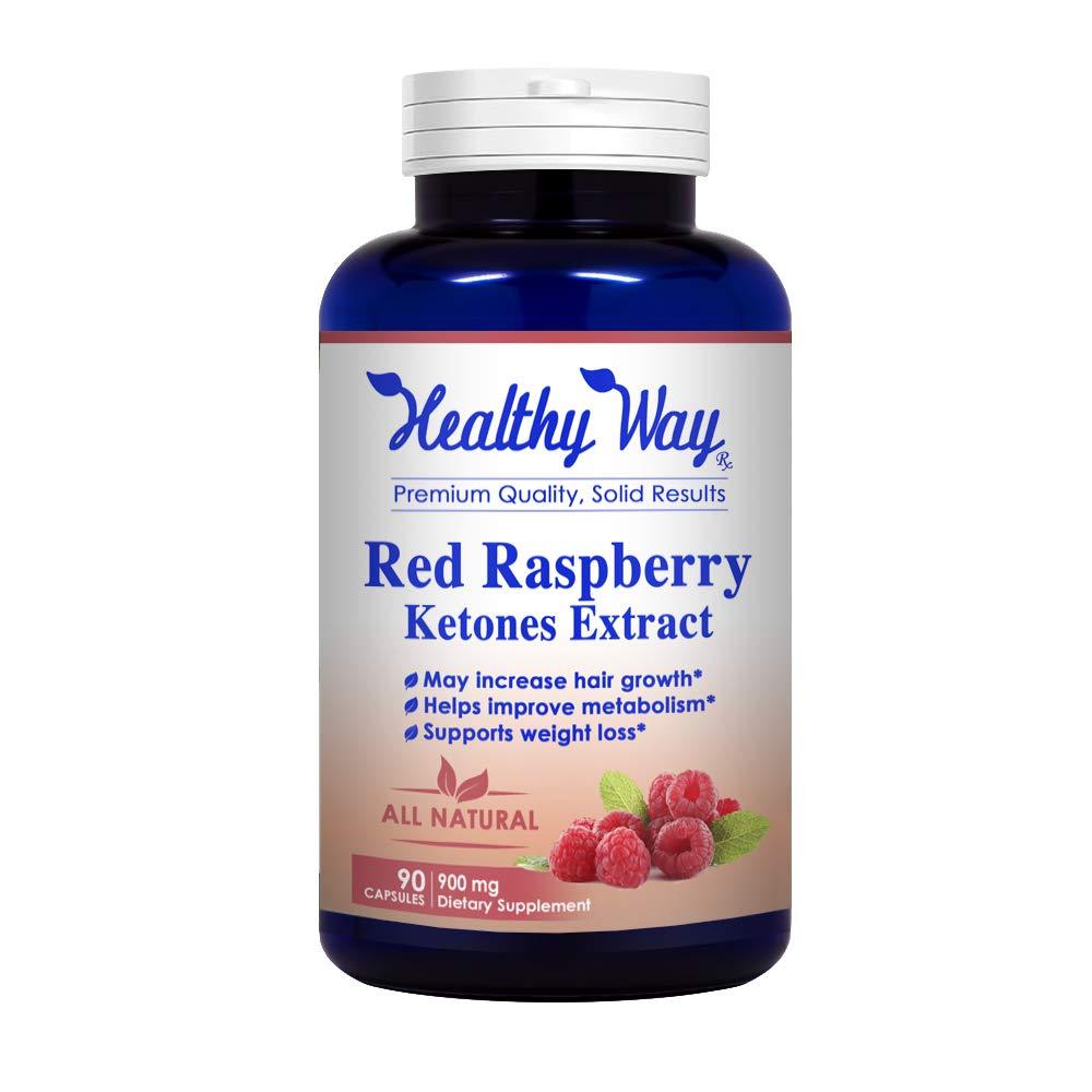 Amazon com: Healthy Way 100% Pure Raspberry Ketones - All