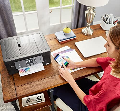 Brother Wireless All-In-One Inkjet Printer, MFC-J895DW, Multi-Function Color Printer, Duplex Printing, NFC One Touch to Connect Mobile Printing, Amazon Dash Replenishment Enabled 61JeDfR7U9L