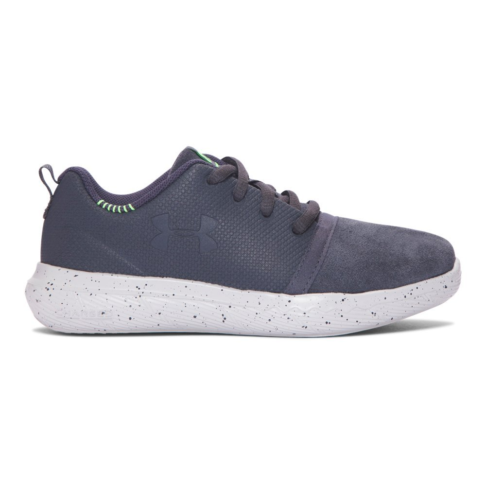 Under Armour Pre-School UA Charged 24/7 Low Suede 3 Stealth Gray