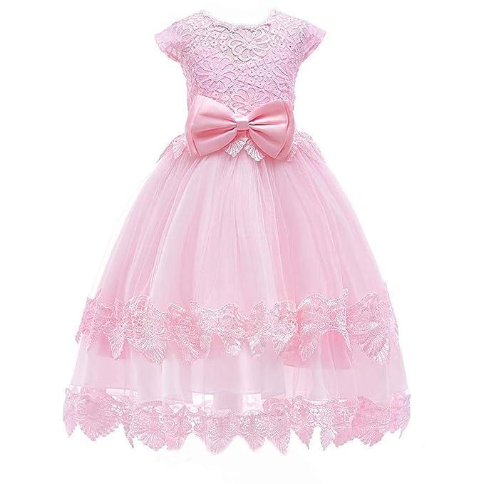 a80473e2b Berngi - Vestido de encaje para fiesta de graduación, boda, cumpleaños,  noche,