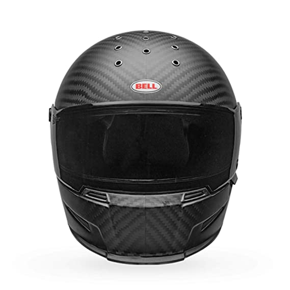 Amazon.es: Bell Eliminator - Casco integral para motocicleta (carbono), color negro mate