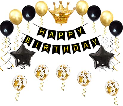 Amazon.com: Kit de decoración de fiesta de cumpleaños ...