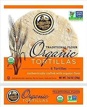 La Tortilla Factory Organic Traditional Flour Tortillas, 7.62 Ounce 0