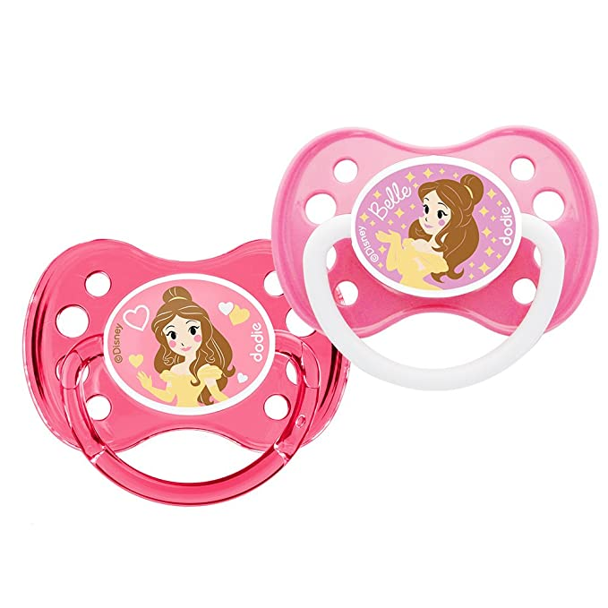 Sucettes Belle 6+ mois Disney Dodie: Amazon.es: Bebé