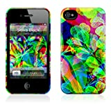GelaSkins iPh4THC Selva Black The HardCase for iPhone 4/4S - 1 Pack - Retail Packaging - Selva Black