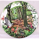 Wedgwood plate by Colin Newman The Beechwood