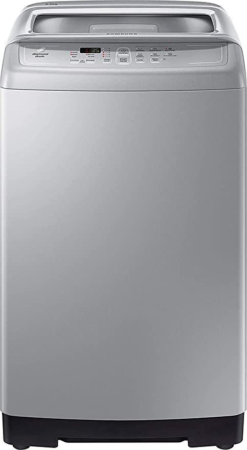 Samsung 6.2 kg Fully Automatic Top load Washing Machine  WA62M4100HY/TL, Imperial Silver  Washing Machines   Dryers