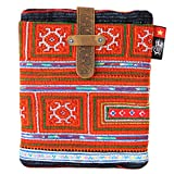 iPad Sleeve / iPad Cover by Ethnotek for iPad 2, iPad Air and similar sized tablets, decorated with hand-crafted fabric from traditional weavers (Vietnam 6)