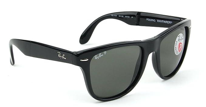 Amazon.com: Ray-Ban RB4105 Folding Wayfarer – Gafas de sol ...