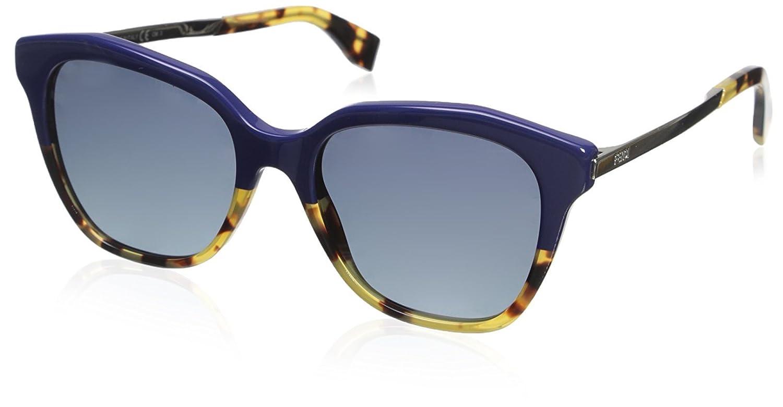 3cf4cf2370353d Fendi FF 0089 S HD, Montures de Lunettes Femme, Noir (Blueehvn Gold), 52   Amazon.fr  Vêtements et accessoires