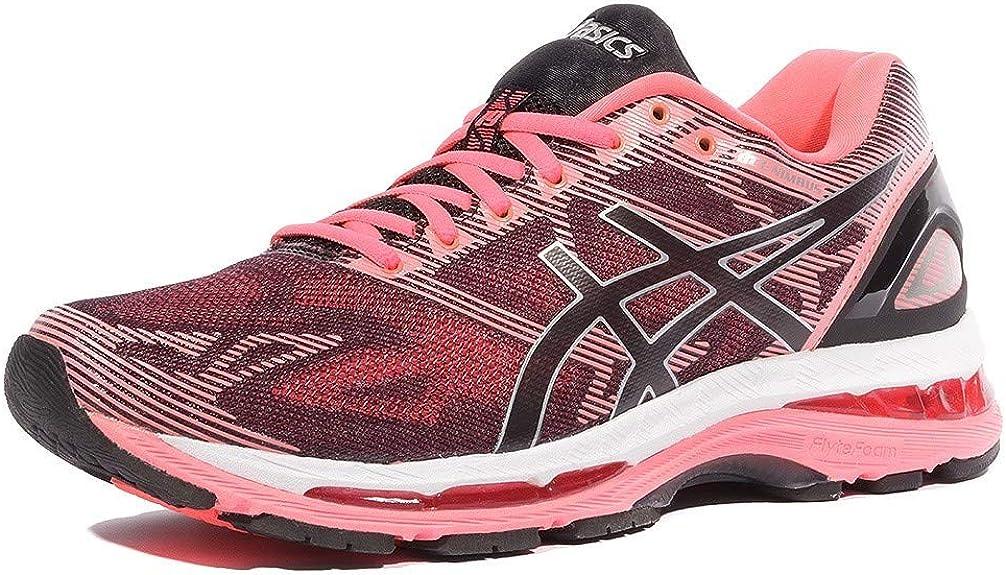 Asics Gel Nimbus 19 Black Silver Pink T750N9093, Calzado Deportivo - 44 EU: Amazon.es: Zapatos y complementos