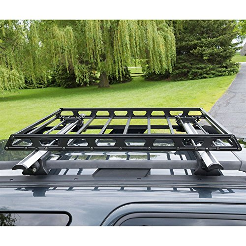 Subaru Outback Roof Rack >> Slim Low-Profile Car Roof Rack Camping Cargo Basket - Buy Online in UAE. | Automotive Products ...