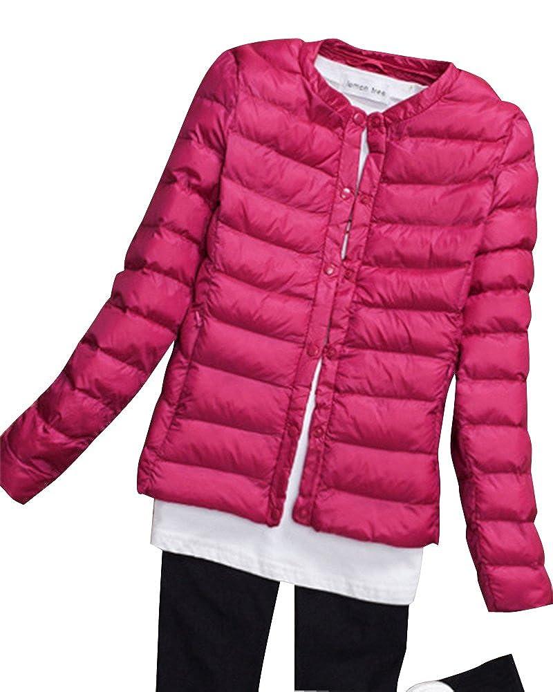 Kasen Abrigo De Plumas Invierno para Mujer Corto Chaqueta De Esquí Parka
