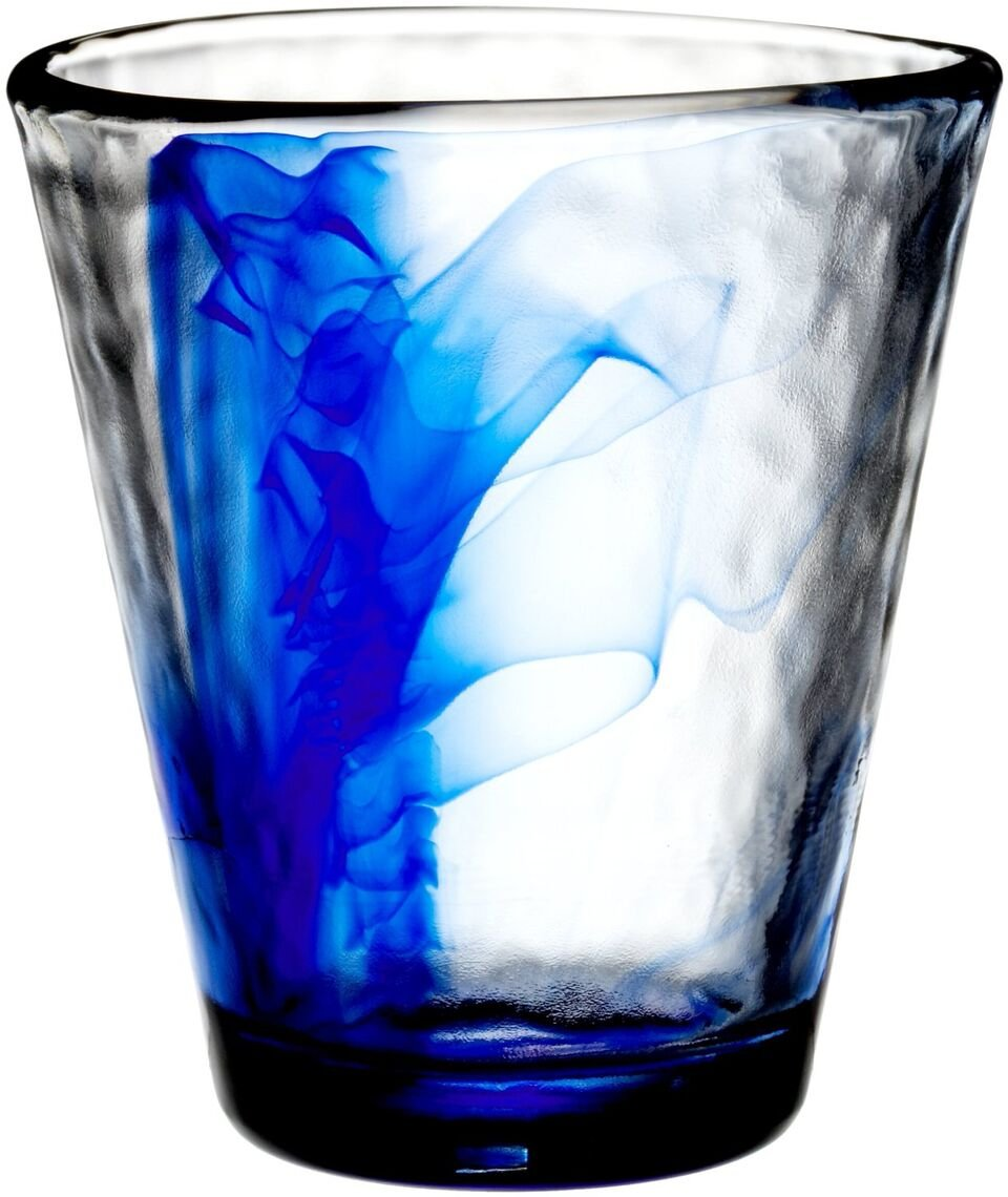 Bormioli Rocco Murano Water Glasses, Blue, Set of 12 Bormioli Rocco Glass Co. Inc. 418240M04321990