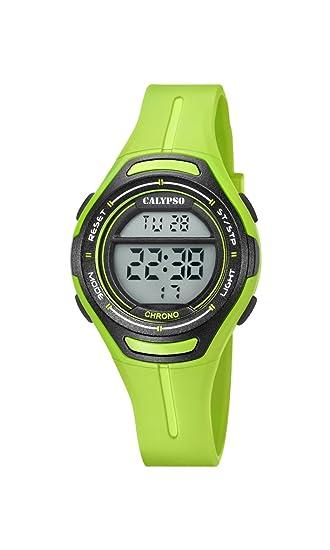 Calypso Reloj Digital para Unisex de Cuarzo con Correa en Plástico K5727/6: Calypso: Amazon.es: Relojes