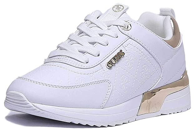 422ca3623 Guess FL5MRLFAL12 Sneakers Women White 35: Amazon.co.uk: Shoes & Bags