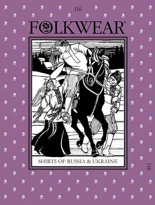 Amazon.com: Patrones – folkwear # 116 Camisas de Rusia y ...