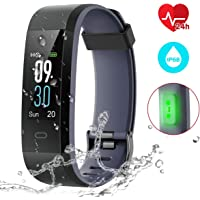 CHEREEKI Fitness Tracker, Orologio Smartwatch con Cardiofrequenzimetro, IP68 Impermeabile, Monitoraggio Sonno, 14 modalità di Allenamento