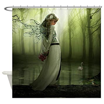 Superior CafePress   Forest Fairy   Decorative Fabric Shower Curtain