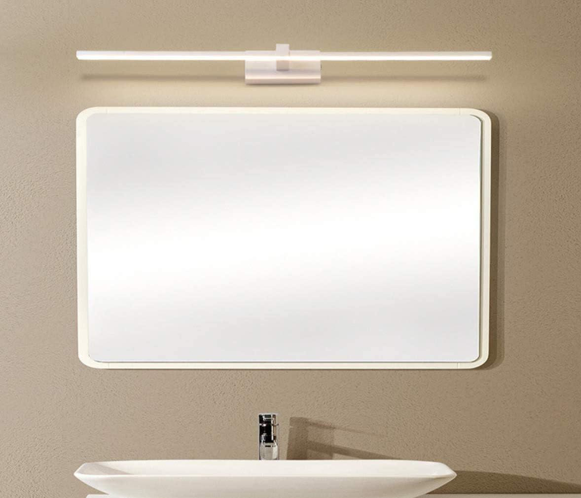 Maquillage Meubles Fixation murale Miroir Applique murale Lampe de salle de bain /étanche IP44 6000k Blanc froid 50cm Applique murale LED 10w