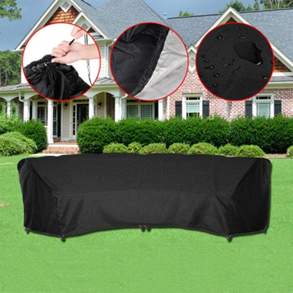 Dust Cover Oxford V-Shape Garden Furniture Protective Cover Durable Waterproof Cover for Furniture Tables and Garden Chairs