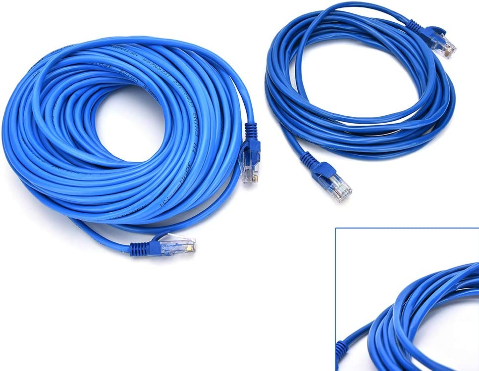 Computer Cables RJ45 Ethernet Cable 5M 10M for Cat5e Cat5 Internet Network Patch LAN Cable Cord for PC Computer Cable Length: 10m