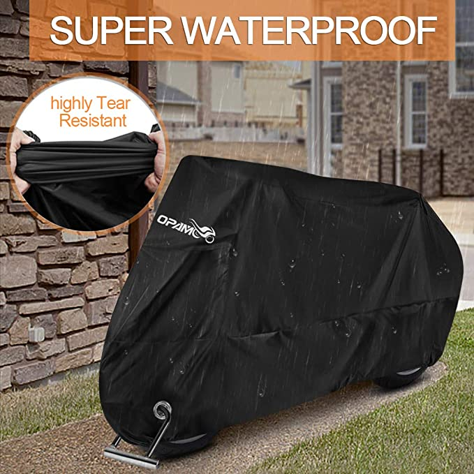 Waterproof Outdoor Motorcycle Cover Sheet Motorbike Moped Scooter Shelter 245cm