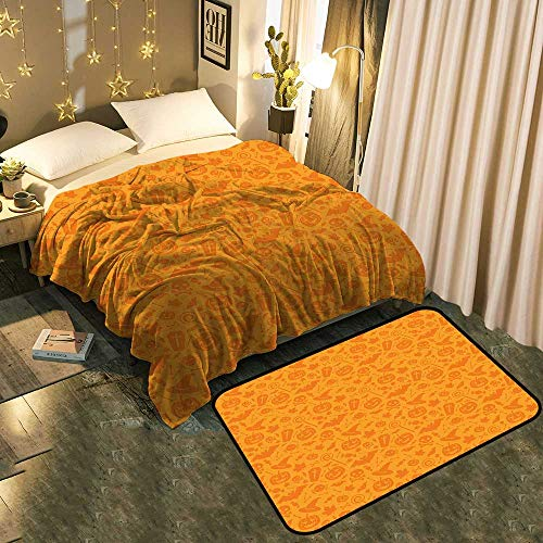 Blanket mat Set Combination Monochrome Design with Traditional