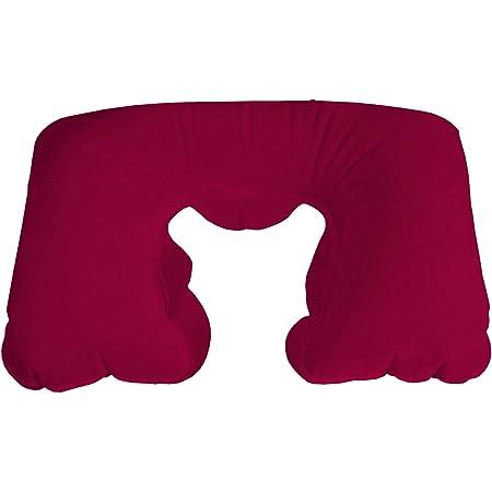 Cojín cervical hinchable, color rojo, el bersecare de cuello ...
