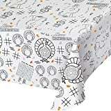 Creative Converting 12-Count Thanksgiving Kids Activity Paper Table Covers