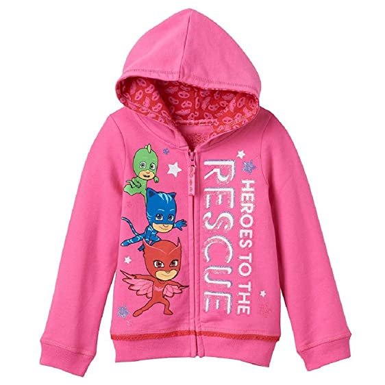 PJ Masks Toddler Girls Heroes to the Rescue Hoodie