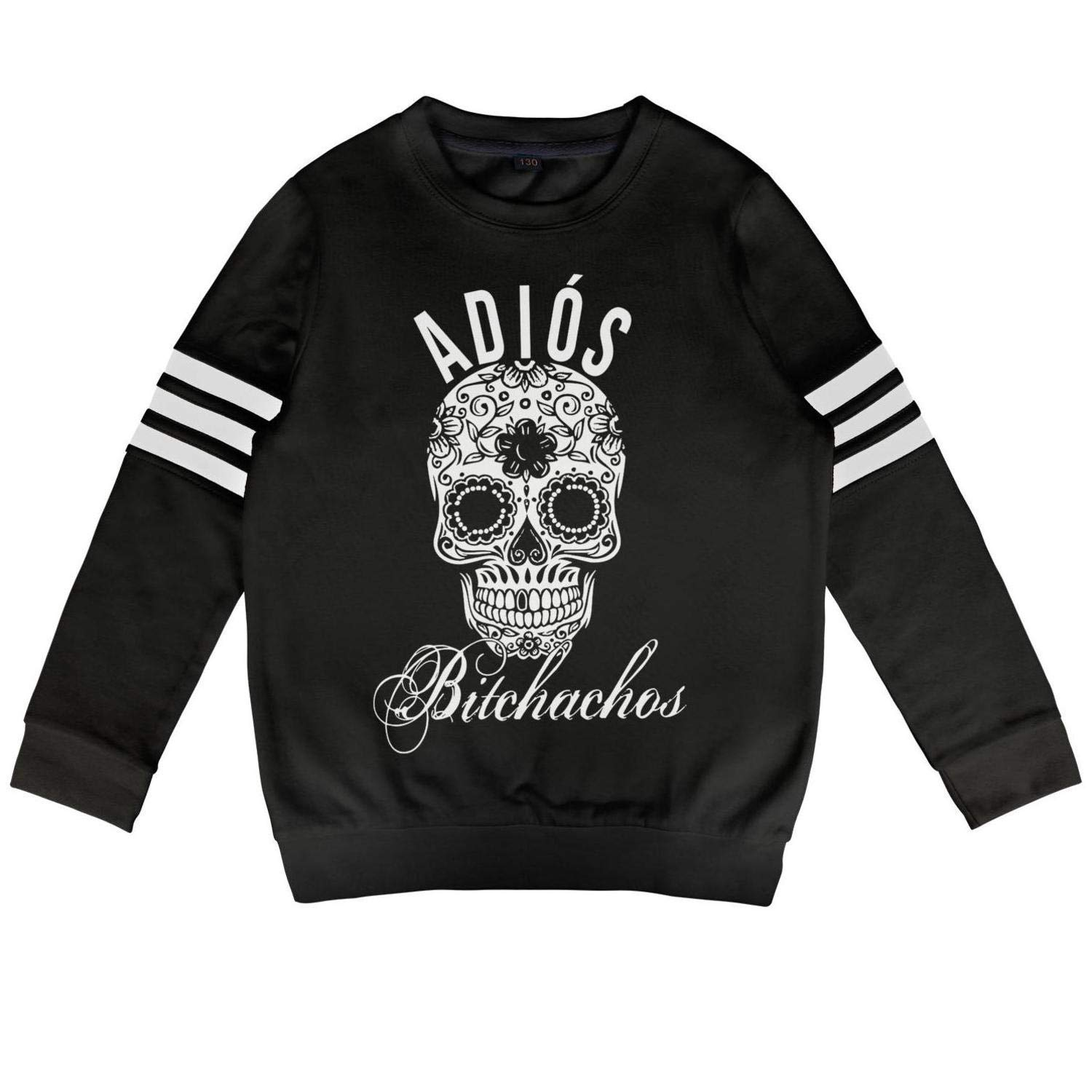 Kids Cinco de Mayo Id Hit That White Kid Long Sleeve T-Shirt for Girls Boys Cool Outfit