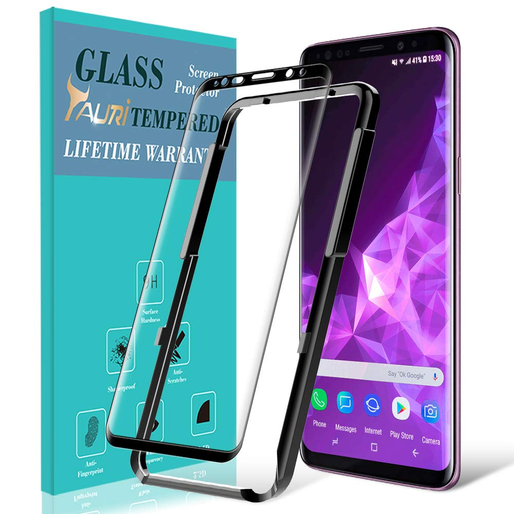 Vidrio templado para Samsung S9 Con Alineador (7J6S776Z)
