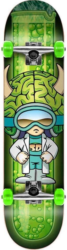 Skateboard Completo Speed Demons Characters 7.75 Brainiac