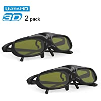 XGIMI Active 3D Glasses DLP-Link Liquid Crystal Shutter for H1 Z4 Aurora Z4X and All DLP 3D Ready Projector