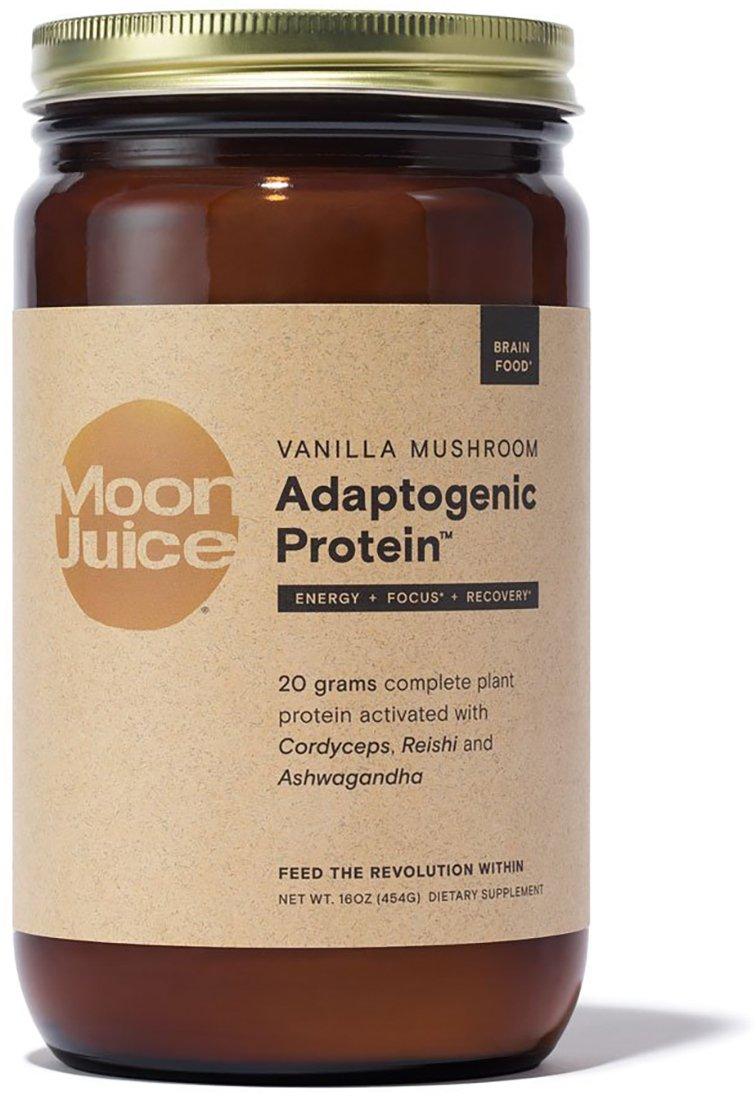 Moon Juice - Organic Vanilla Mushroom Adaptogenic Protein (16 oz)