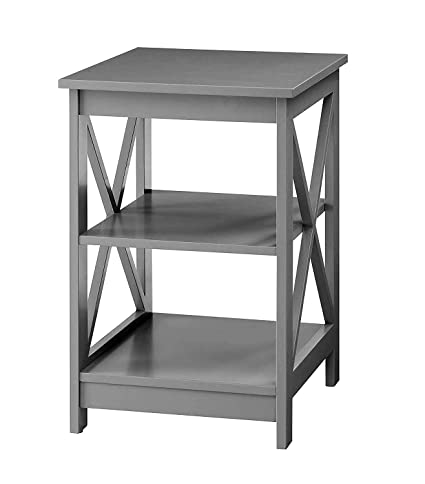 Coffee Table With Storage Grey 10