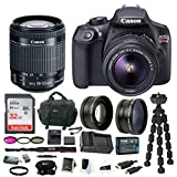 Photo : Canon EOS Rebel T6 Digital Camera: 18 Megapixel 1080p HD Video DSLR Bundle With Wide Angle 18-55 MM Lens 32GB SD Card Mini Tripod Filter Kit & Charger - Professional Vlogging Sports and Action Cameras