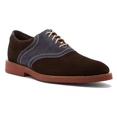 Men's Lace Ups Oxfords/Neil M Boston Worn Saddle Leather