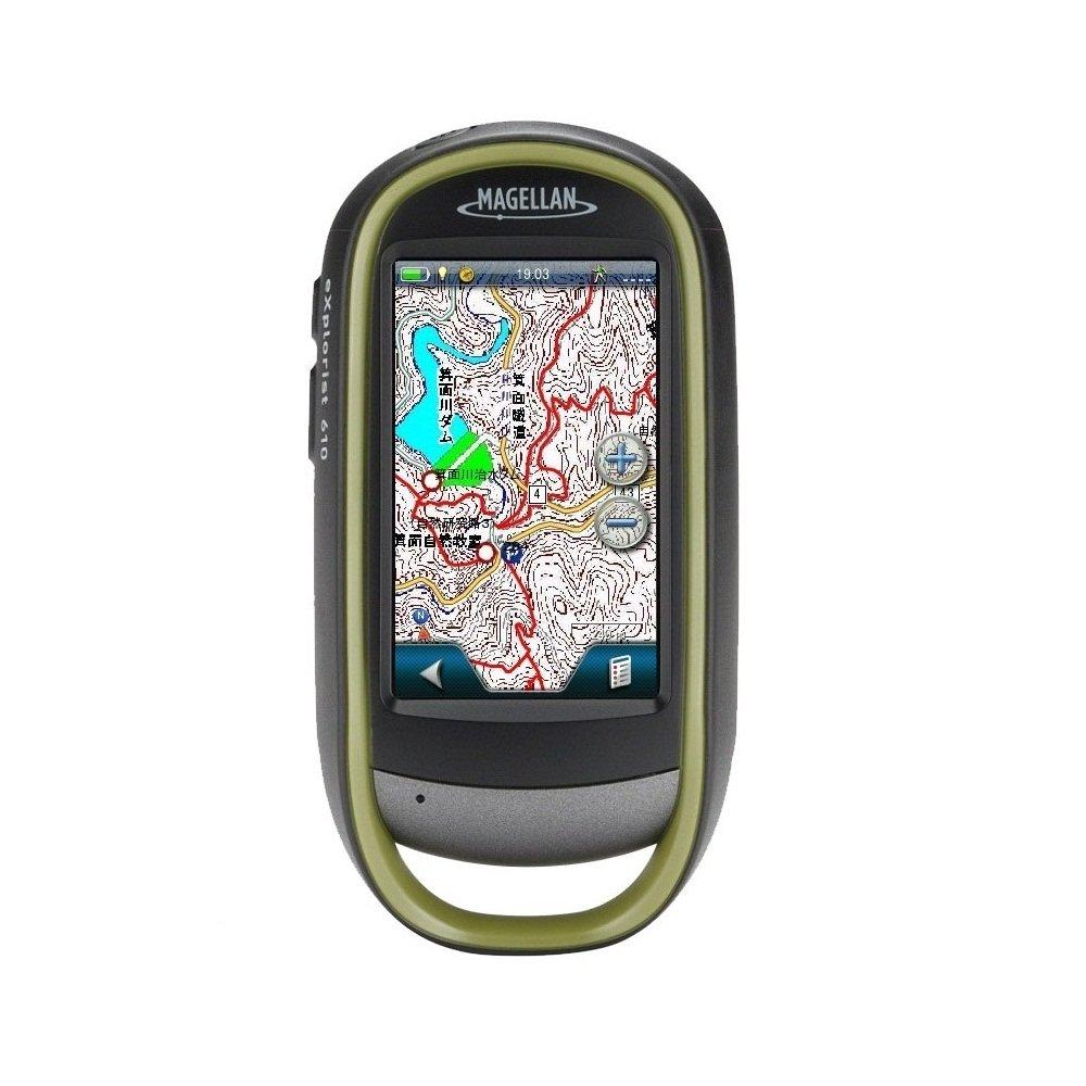 Magellan(マゼラン) explorist610JP日本地形図&日本登山地図搭載モデル タッチスクリーン式アウトドアGPS【日本正規品】 TX610GSISB B00I2UIM5A